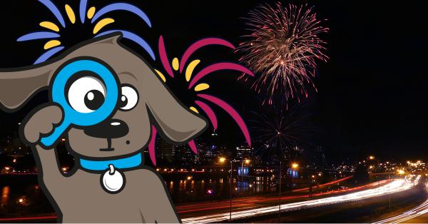 Angst vor Feuerwerk